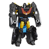 Transformers Cyberverse Warrior Black Stealth Force Hot Rod Robot Toy