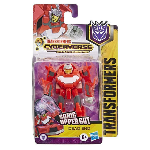 Transformers Cyberverse Scout Class Dead End Box Package
