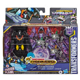 Transformers Cyberverse Battle for Cybertron Sharkticons Attack Villains Giftset Box Package