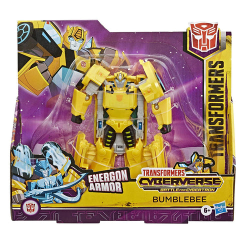 Transformers Cyberverse Battle for Cybertron Ultra Class Bumblebee Box Package