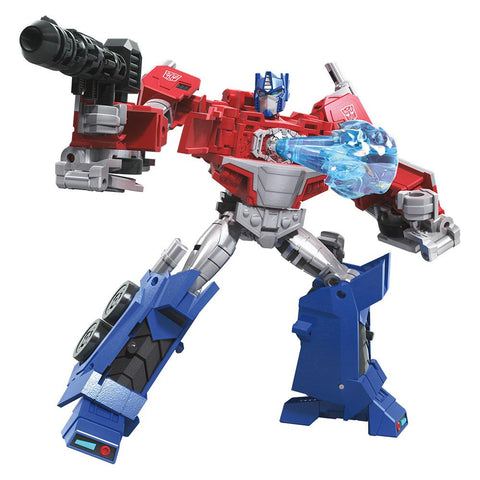 Transformers Cyberverse Warrior Optimus Prime Robot Render