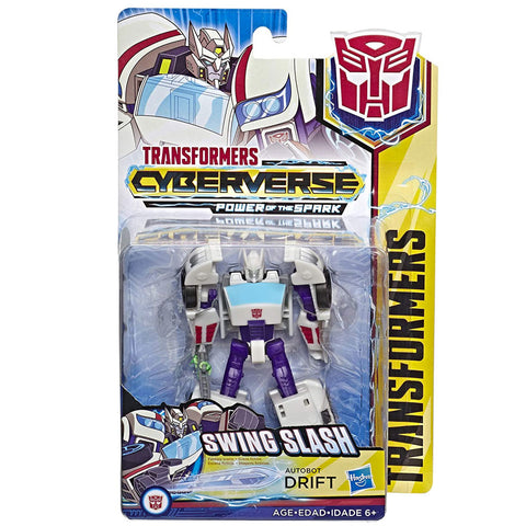 Transformers Cyberverse Power of the Spark Warrior Class Autobot Drift box package front