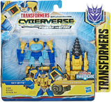 Transformers Cyberverse Power of the Spark Sky-Byte & Drill Driver Spark Armor Box Package