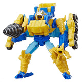 Transformers Cyberverse Power of the Spark Sky-Byte & Drill Driver Spark Armor Combined Toy