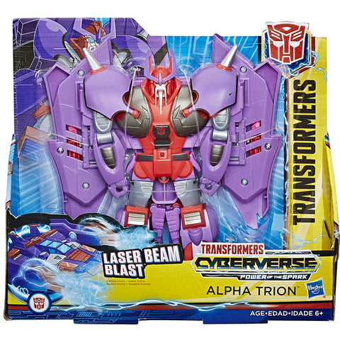 Transformers Cyberverse Power of the Spark Ultra Class Alpha Trion Box Package Front
