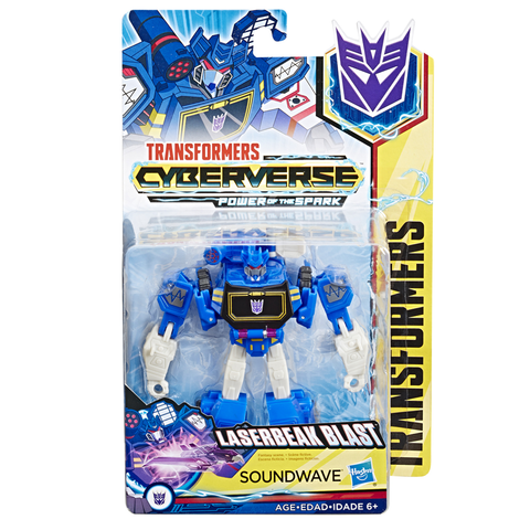 Transformers Cyberverse Power of the Spark Soundwave - Warrior