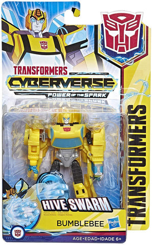 Transformers Cyberverse Power of the Spark Hive Swarm Bumblebee Box Package
