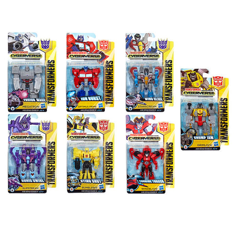 Transformers Cyberverse Scout Class Bundle of 7