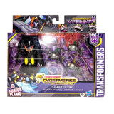 Transformers Cyberverse Battle for Cybertron Sharkticons Attack Giftset Box Package
