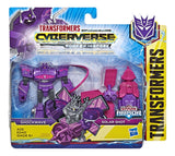 Transformers Cyberverse Spark Armor Shockwave & Solar Shot Box Package