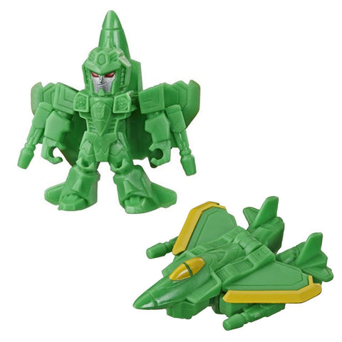 Transformers Cyberverse Tiny Turbo Changers Series2 Acid Storm Green Jet Toy