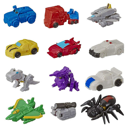 Transformers Cyberverse Tiny Turbo Changers Series 2 Complete set of 12 Altmode