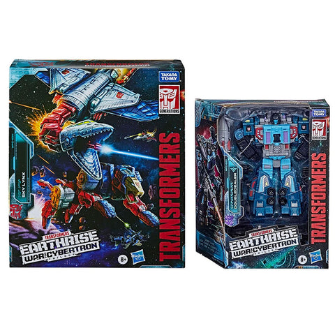 Transformers Earthrise Sky Lynx Doubledealer bundble box package front