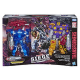 Transformers Siege Fan Vote 3-pack exclusive box package