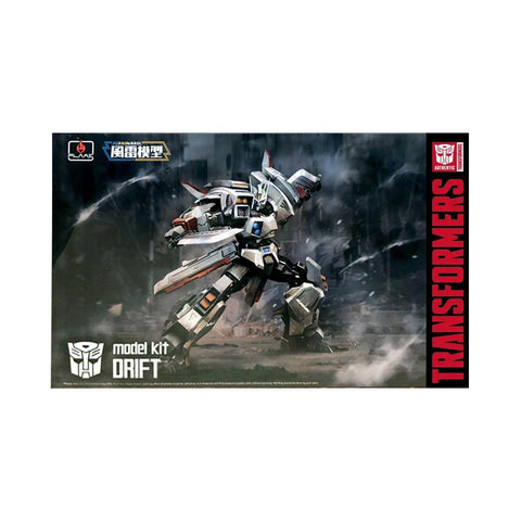 Transformers Flame Toys Furai Model Kit 10 Drift with sword box package