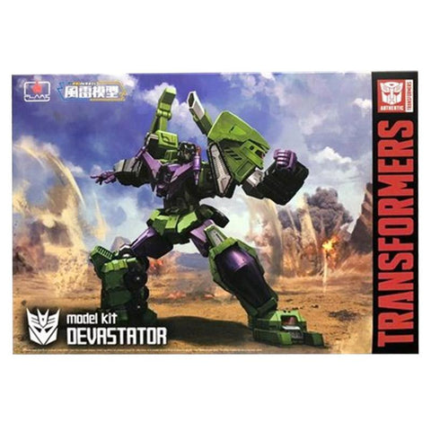 Flame Toys Furai Model Kit 11 Devastator Transformers box package