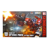 Flame Toys Furai Model Kit 01 Optimus Prime (Battle Mode) Box Package Transformers