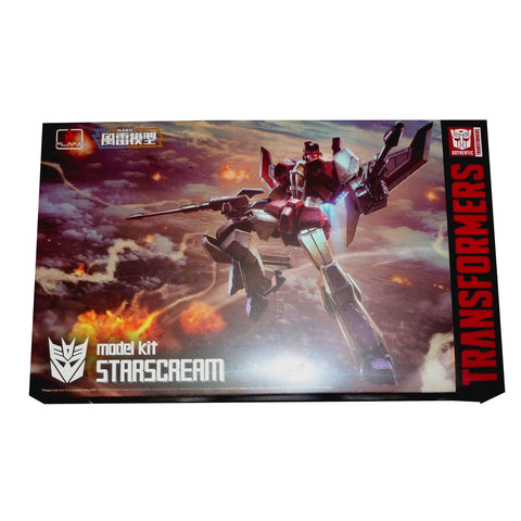 Flame Toys Furai Model Kit 02 Starscream Box Package Transformers