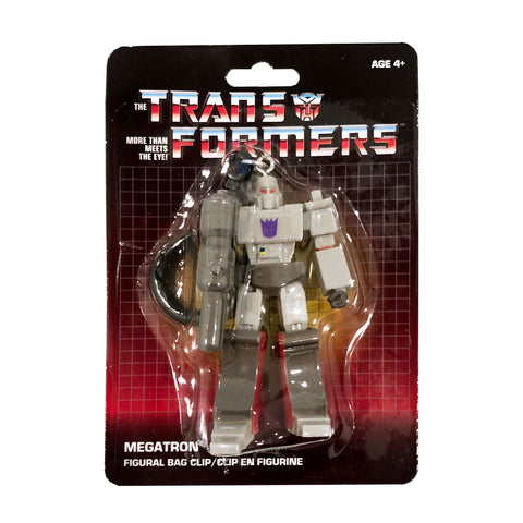 Transformers Generation 1 G1 Megatron Keychain Bag Clip Dollar Tree Package
