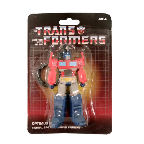 Transformers Generation 1 G1 Optimus Prime keychain dollar tree bag clip package mosc
