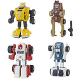 Transformers 2018 Walmart G1 Vintage Reissue bundle of 4 bumblebee outback swerve tailgate robots