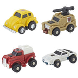 Transformers 2018 Walmart G1 Vintage Reissue bundle of 4 bumblebee outback swerve tailgate car vehicle