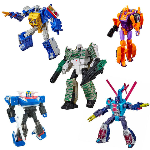 Transformers Generation Selects - 5-Figure Bundle