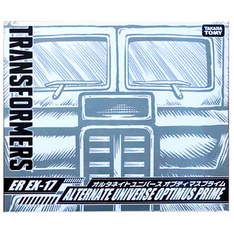 Transformers Generation Selects ER EX-17 Alternate Universe Optimus Prime Japan TakaraTomy Box Package Front