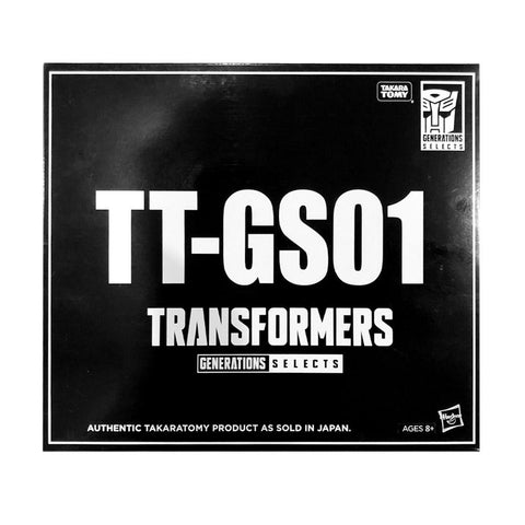 Transformers Generations Selects TT-GS01 Star Convoy USA Black sleeve Box Package Hasbro