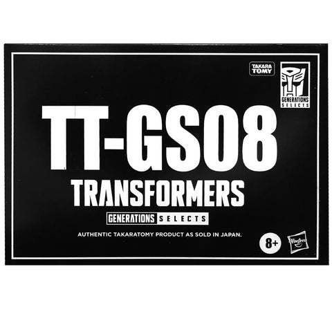 Transformers Generations Selects TT-GS08 Seacon Tentakil Hasbro USA Black Sleeve box package front