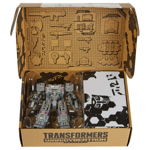 Transformers War for Cybertron Trilogy deluxe centurion drone accessories weapon pack box package inner