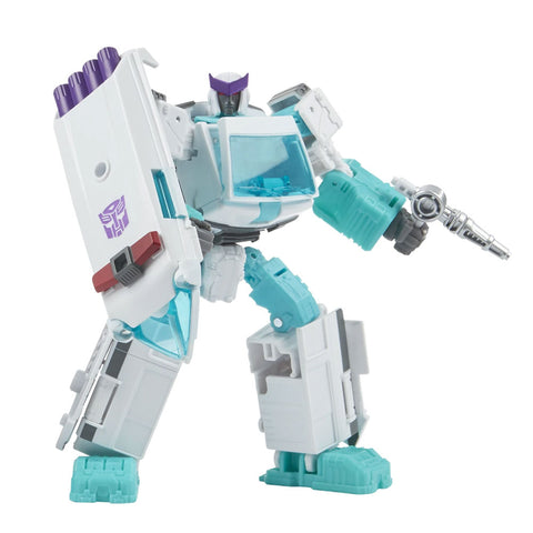 Transformers Generations Selects WFC-GS17 deluxe SG Shattered Glass Ratchet Robot Toy
