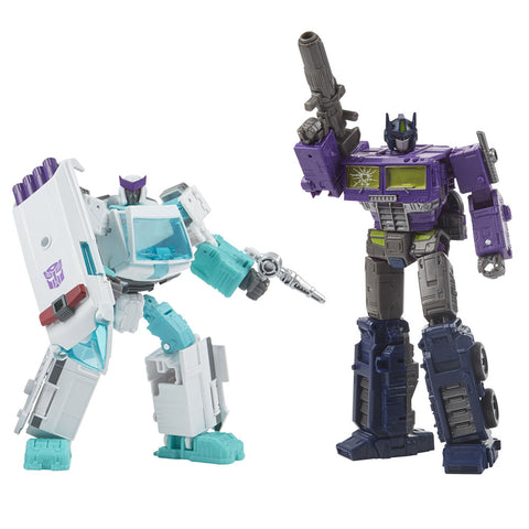 Transformers Generation Selects WFC-GS17 Shattered Glass Optimus Prime Ratchet robot toys