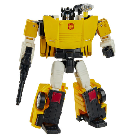 Transformers Generations Selects WFC-GS18 Deluxe Autobot Tigertrack yellow robot toy