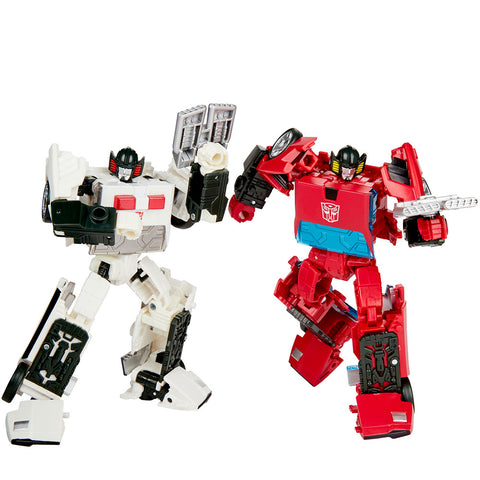 Transformers Generations Selects WFC-GS20 Deluxe Cordon Spin-out 2-pack Giftset robot toys