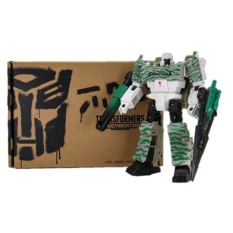 Transformers Generations Selects G2 Winter Camo Megatron Robot packaging Box