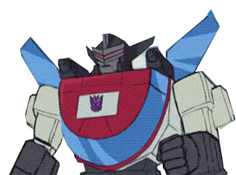Transformers Generations Selects Deluxe Exhaust Decepticon ARtwork mockup