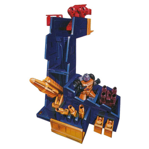 Transformers Generations Selects WFC-GS Greasepit Micromaster base Artwork Mockup