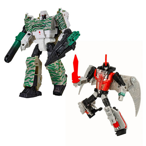 Transformers Generations Selects Red Swoop & Combat Hero Megatron - 2 Figure Bundle