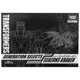 Transformers Generations Selects Seacon Kraken TakaraTomy Japan Box Front Package Sleeve