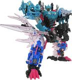Transformers Generations Selects Seacon Combiner King Poseidon with sword