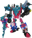Transformers Generations Selects Seacon Combiner King Poseidon Combined Bundle