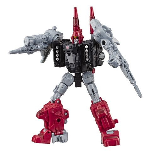 Transformers Generations Selects Siege WFC-GS04 Deluxe Weaponizer Cromar Powerdasher Robot toy