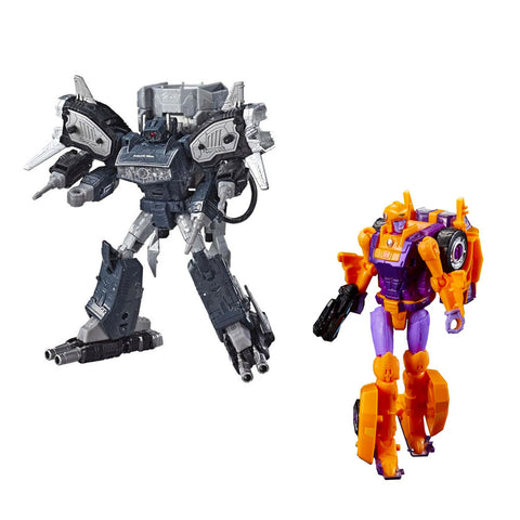 Transformers Generations Selects Autobot Lancer & Galactic Man Shockwave - 2 Figure Bundle