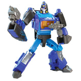 Transformers Generations Shattered Glass Blurr Deluxe Action Figure Toy Robot Render