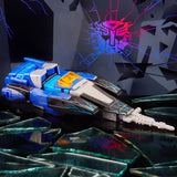 Transformers Generations Shattered Glass Blurr Deluxe evil race car toy photo