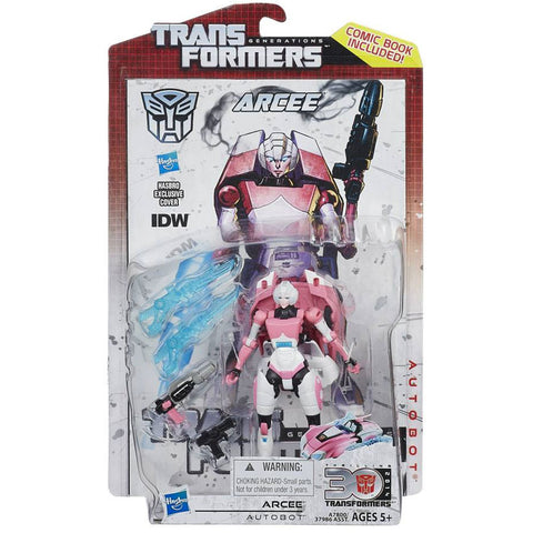 Transformers Generations Thrilling 30 Deluxe Arcee Box Package Front Hasbro USA