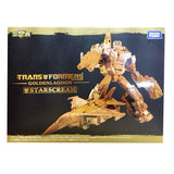 Transformers Golden Lagoon Gold Starscream Combiner Wars United Warriors Deluxe Box Package