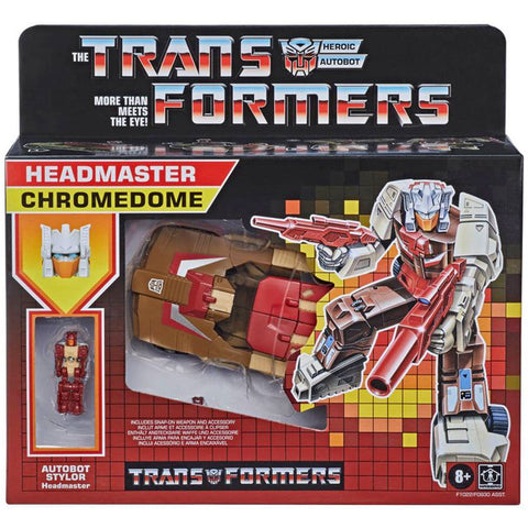 Transformers Titans Return Reissue G1 Deco Chromedome Deluxe walmart box package front