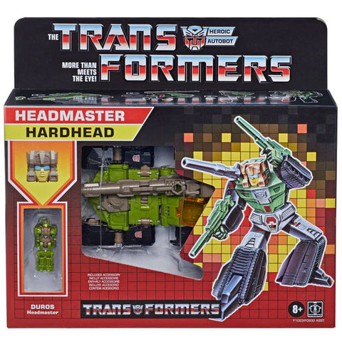 Transformers Headmaster Hardhead titans return retro g1 deco reissue walmart exclusive box package front